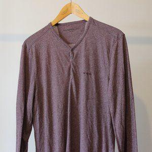 John Varvatos Purple/Burgundy Long Sleeves Shirt